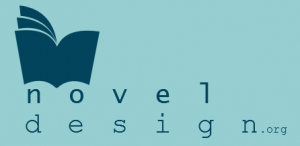 novel design logo